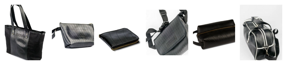 Upcycled Rubber Bags