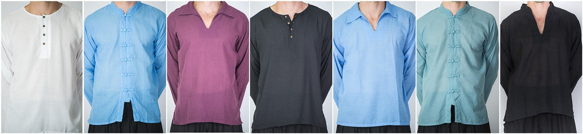 Thai Cotton Unisex Yoga Shirts