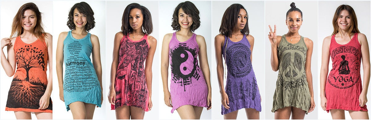 3ad7b881ae2 Sure Design Womens Tank Dresses