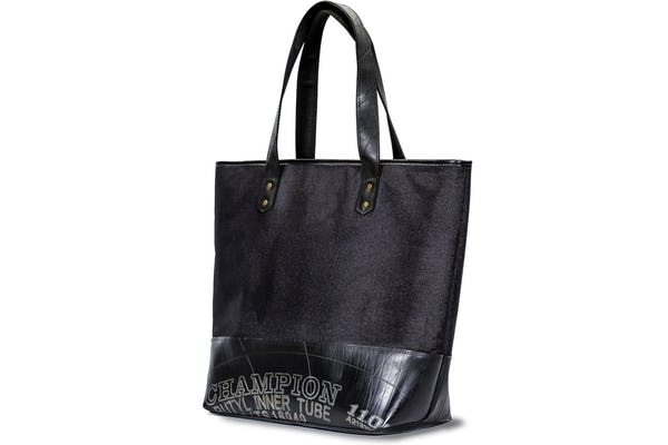 Upcycled Rubber Tote Bag Medium