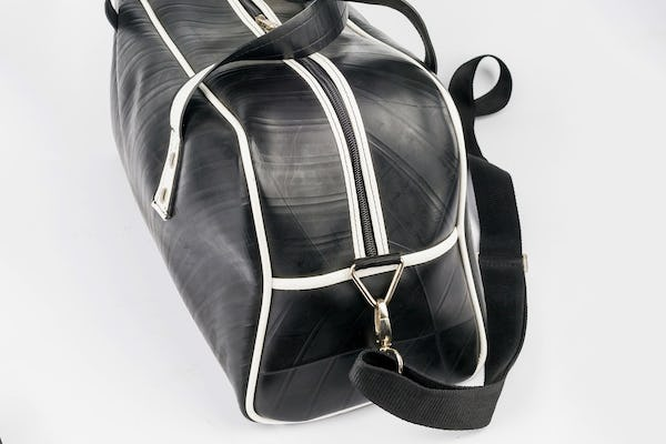 Upcycled Rubber Duffle Bag