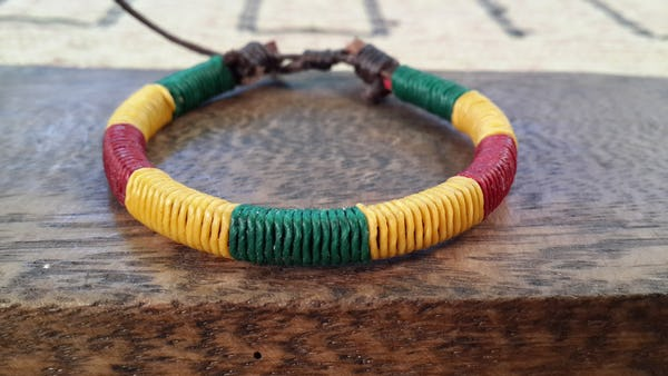 Hand Made Woven Waxed Cotton Rasta