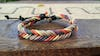 Braided Leather Bracelet in Pastel