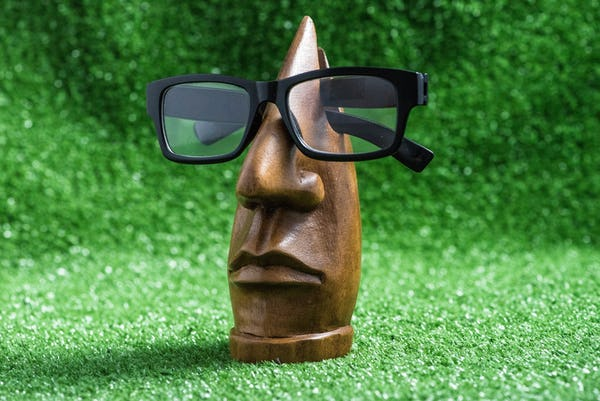 Handcrafted Wooden Eyeglasses Holder