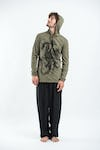 Sure Design Unisex  Hoodie The Dragon Green