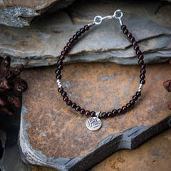 Hand Made Woven Waxed String Leather Adjustable Bracelets With Butterfly Charm and Beads