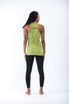 Sure Design Womens Wild Elephant Tank Top Lime