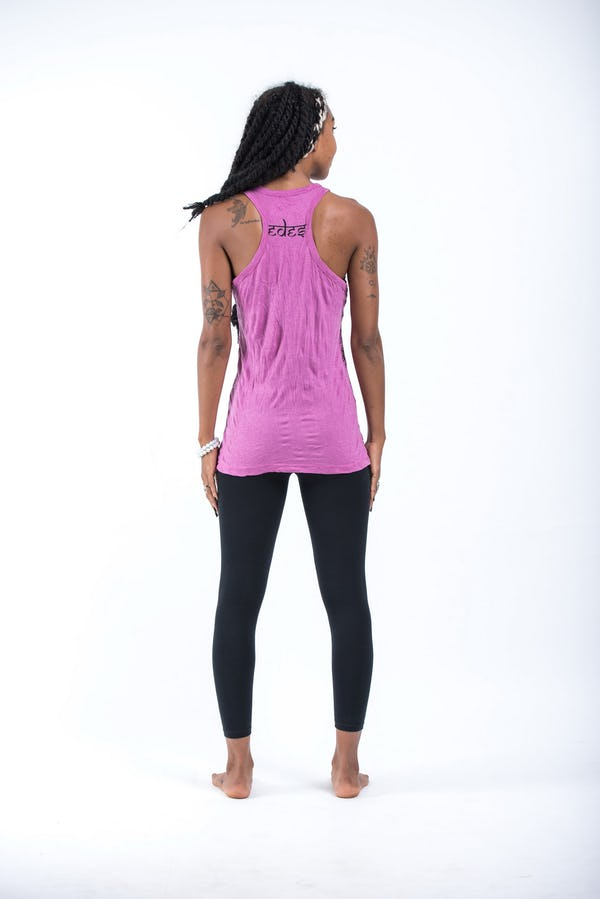Sure Design Womens Wild Elephant Tank Top Pink