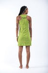 Womens Octopus Tank Dress in Lime