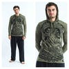 Sure Design Unisex Batman Ganesh Hoodie Green