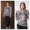 Sure Design Unisex Batman Ganesh Hoodie Grey