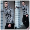 Sure Design Unisex Fight to Freedom Hoodie Grey
