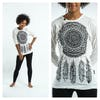 Sure Design Dreamcatcher Long Sleeve Shirts White