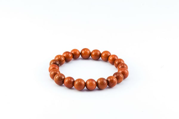Red Goldstone Lucky Stone Bracelet