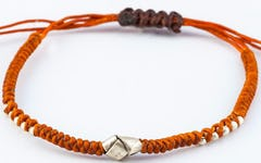 Braided Leather Bracelet in Dream