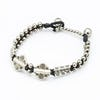Hill Tribe Silver Color Bead And Charm Bracelets 03
