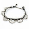 Hill Tribe Silver Color Bead And Charm Bracelets 04