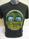 Sure Design Super Soft Vintage Style Chang Beer T-Shirt Black