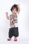 Sure Design Kids Baby Tiger T-Shirt White