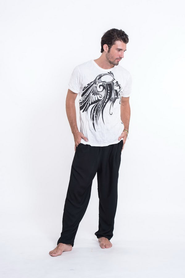 Mens Indian Chief T-Shirt in White