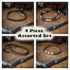 Assorted 4 Piece Set Handmade Thai Bracelet