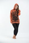 Sure Design Unisex Antique Buddha Hoodie Orange