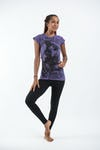 Sure Design Womens Baby Ganesh T-Shirt Purple