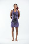 Sure Design Womens Baby Ganesh Tank Dress Purple