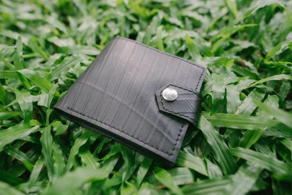 Upcycled Rubber Mens Wallet