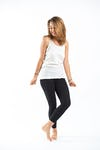 Sure Design Womens Solid Tank Top White