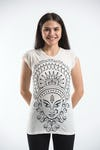 Sure Design Womens Durga T-Shirt White