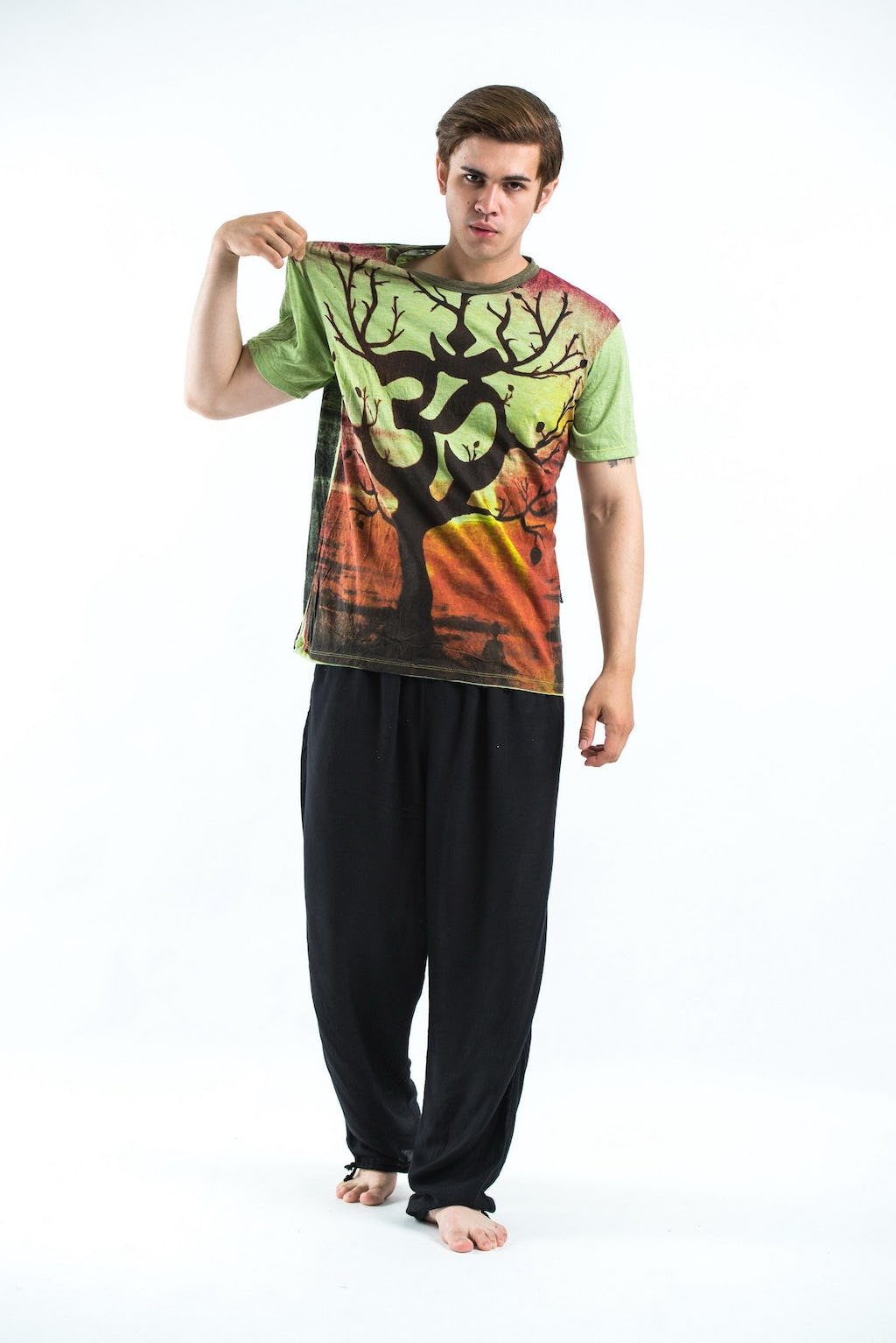 Sure design t shirts and clothing - Sure Design Mens Ohm Tree T Shirt Green