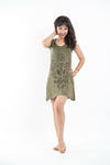 Sure Design Womens Durga Kali Dress Green