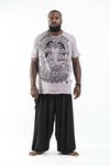 Plus Size Men's Batman Ganesh T-Shirts Gray