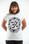 Plus Size Women's Infinitee Ohm T-Shirts White