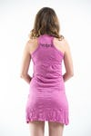 Sure Design Womens Sanskrit Buddha Tank Dress Pink
