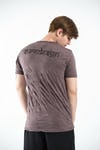 Sure Design Mens Tattoo Ganesh  T-Shirt Brown
