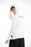 Sure Design Unisex Fight to Freedom Hoodie White