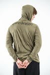 Sure Design Unisex Eagle Hoodie Green