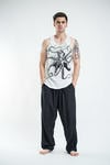 Sure Design Mens Octopus Tank Top White