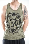 Sure Design Mens Infinitee Ohm Tank Top Green