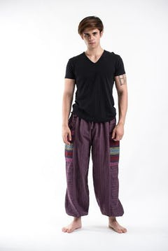 Geometric Mandalas Jumpsuit Harem Pants in Silver Gray