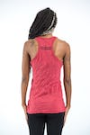 Sure Design Womens Celtic Tree Tank Top Red