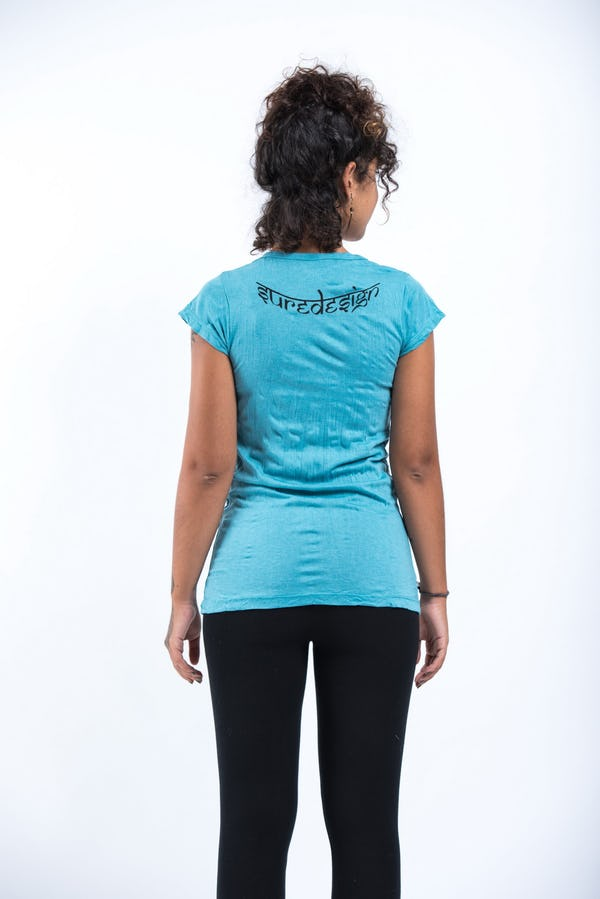 Womens Durga T-Shirt in Turquoise