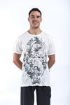 Mens Octopus Weed T-Shirt in White