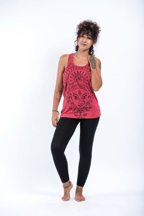 Sure Design Womens Durga Tank Top Red