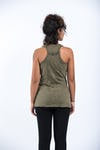 Sure Design Womens Infinitee Ohm Tank Top Green