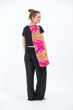 Floral PrintsThai Hill Tribe Fabric Womens Palazzo Pants