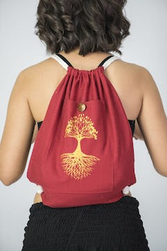 Tree of Life Cotton Tote Bag