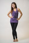 Sure Design Womens Octopus Tank Top Purple